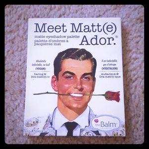The Balm Meet Matt(e) Ador
